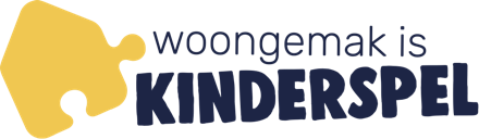 Logo Woongemak is kinderspel